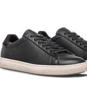 CLAE Bradley Sneaker Black Milled Leather 9.5